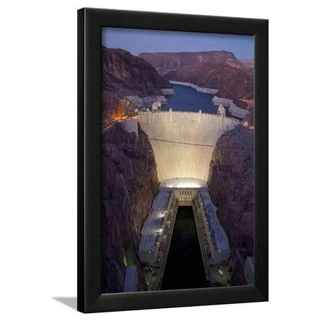- Hoover Dam, near Boulder City and Las Vegas, Nevada Framed Print Wall Art By Joseph Sohm