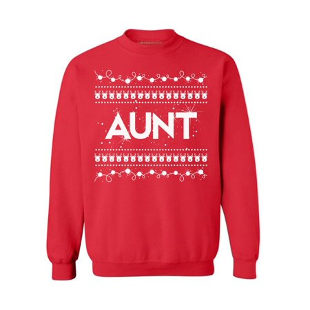 Awkward Styles Aunt Christmas Sweatshirt Christmas Aunt Sweater Family Holiday Sweatshirt Best Auntie Sweater Aunt Ugly Christmas Sweater Christmas Gift for Best Aunt Funny Christmas Sweater