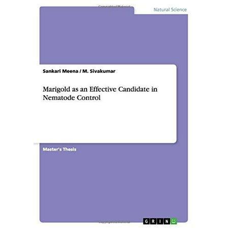 Marigold as an Effective Candidate in Nematode Control - image 1 de 1