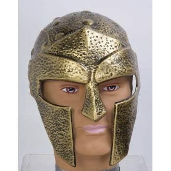 GLADIATOR HELMET-GOLD](Novelty Helmet)