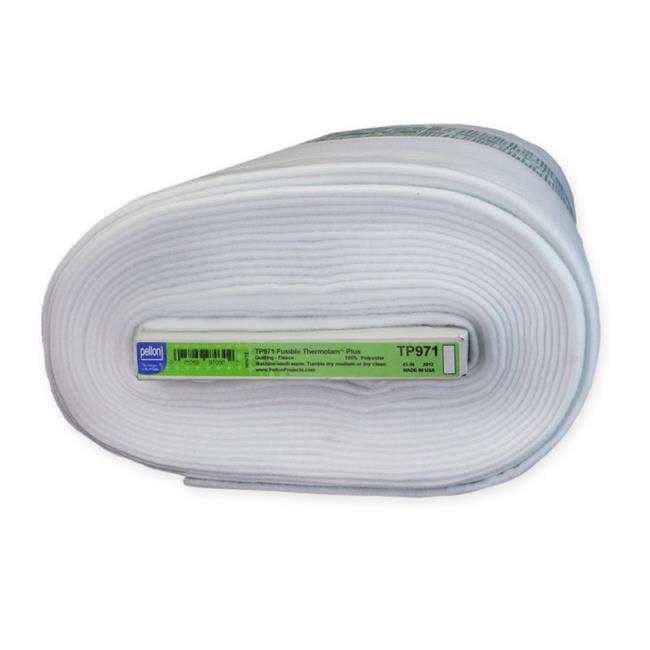 Pellon TP971F Fusible Fabric Thermolam Plus White