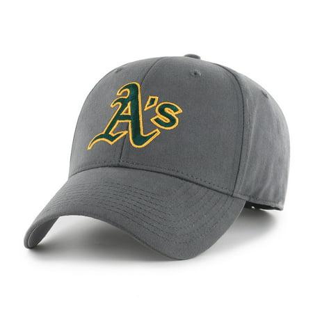 Fan Favorite MLB Basic Adjustable Hat, Oakland - Oakland Athletics Metal
