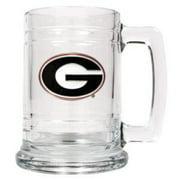 Georgia Bulldogs 16oz Glass Tankard