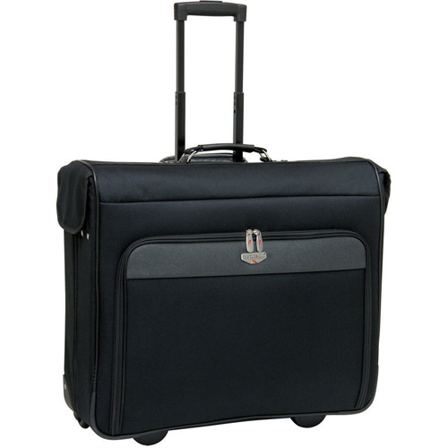 Travelers Club 44 Quot Rolling Garment Bag Black And Gray Walmart Com