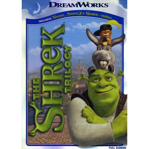 Shrek Trilogy: Shrek / Shrek 2 / Shrek The Third (Full Frame)