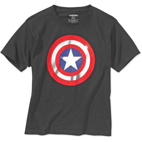 Marvel - Kids' Captain America Shield Graphic Tee