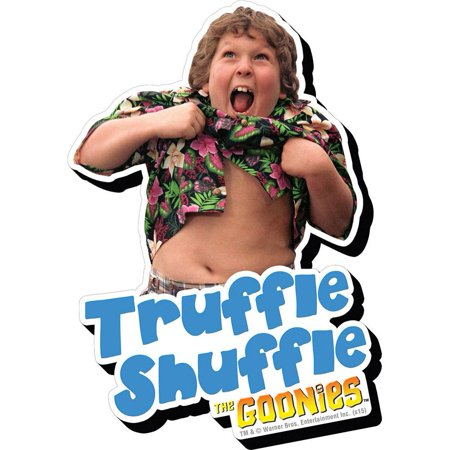 Goonies Chunk Magnet   Comedy Movies By Nmr Calendars