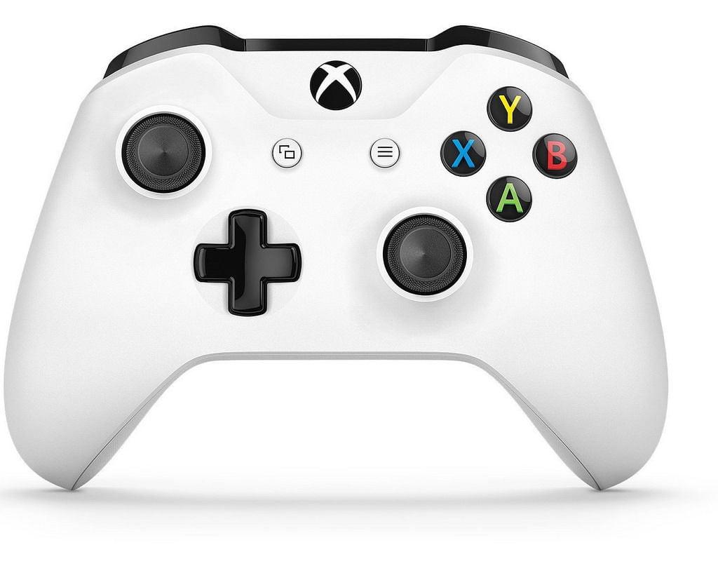 Microsoft Xbox One S White Wireless Bluetooth Controller TF5-00001 -  Refurbished