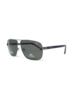 0fb37cadebec62 Product Image LACOSTE Polarized Sunglasses L162SP 033 Gunmetal Rectangle  61x13x140