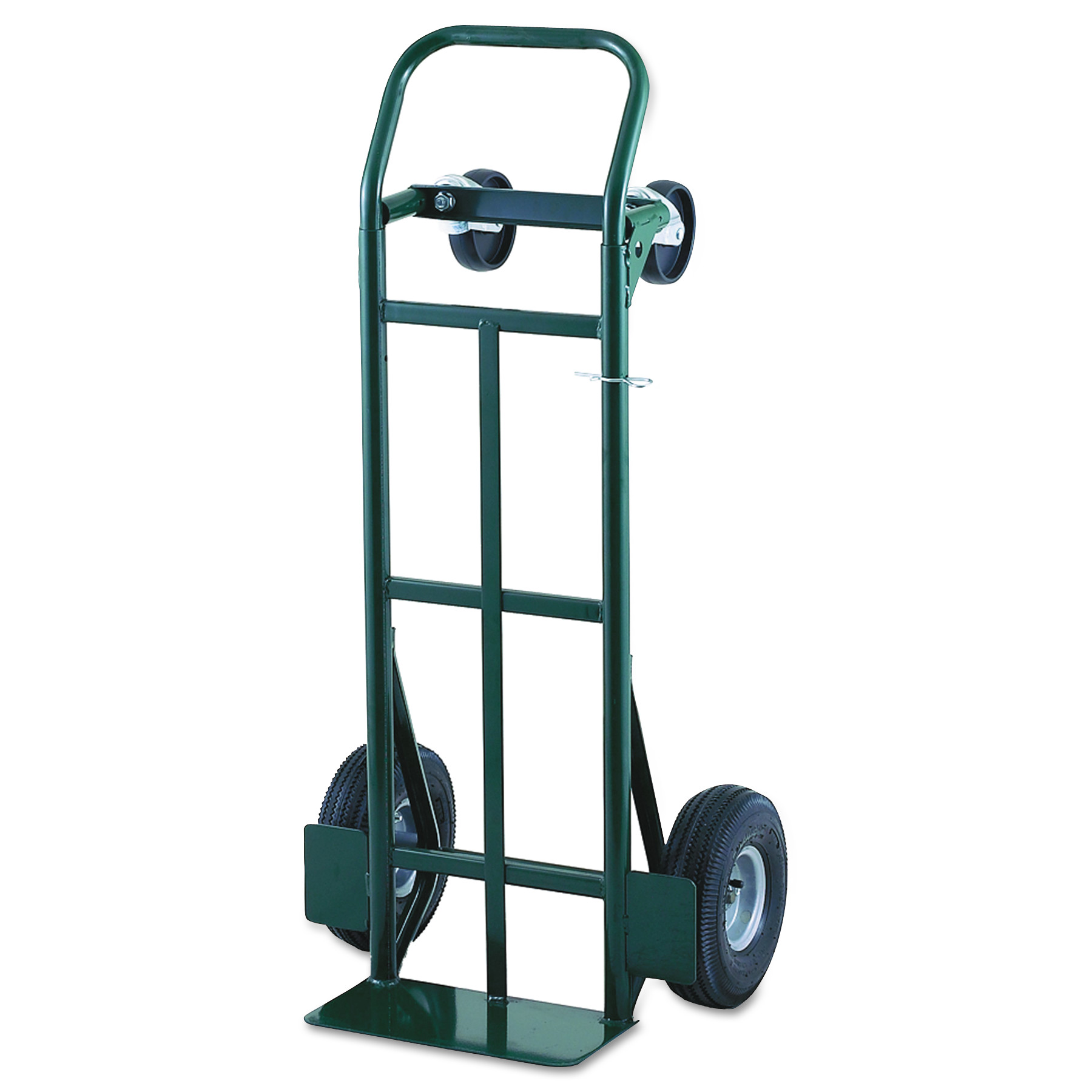Harper Trucks Super Steel Convertible Hand Trucks, 700 lb Cap., 7 in x 14 in Base Plate