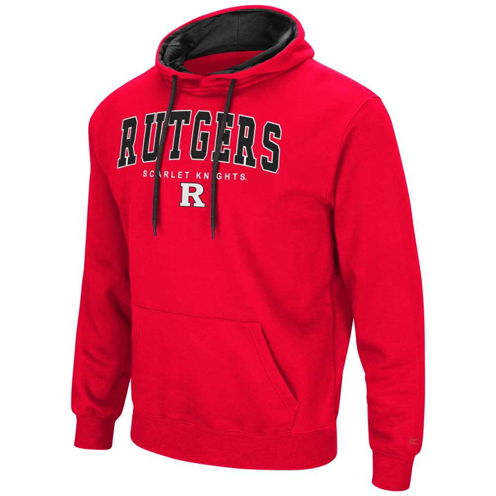 Rutgers Scarlet Knights Colosseum Zone III Hoodie - Arch