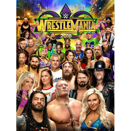 WWE: WrestleMania 34 (DVD) (Wwe Tin Dvd)