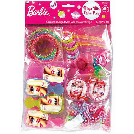 Barbie 'All Doll'd Up' Favor Pack (48pc)