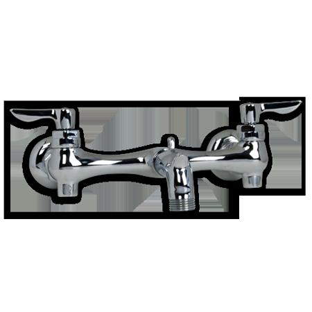 American Standard Service Sink Faucet - American Standard 2-Handle Commerical Service Sink Faucet in Chrome