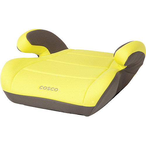 Cosco Topside Booster Car Seat, Lemon
