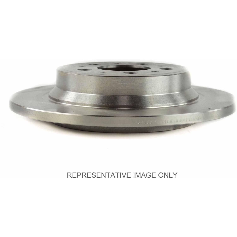 Centric C-Tek Brake Rotor, #121-66054