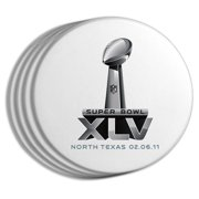 NFL 2011 Super Bowl Logo 4-pack Coaster Set