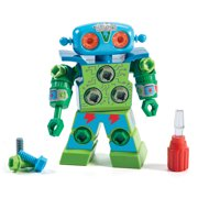 Educational Insights Design & Drill® Robot, Preschool STEM & Building Toy, Ages 3+