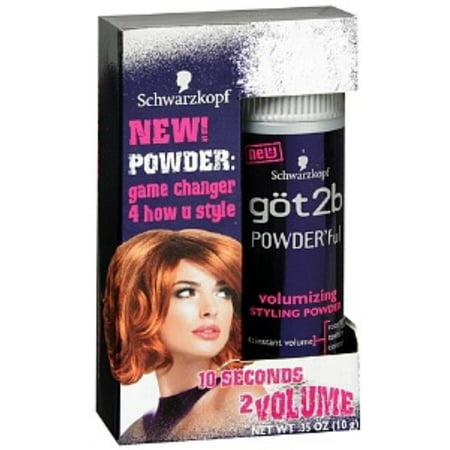 got2b POWDER'ful Volumizing Styling Powder 0.35 oz - Baby Powder In Hair Halloween