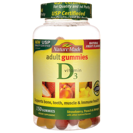Nature Made Nutritional Products Nature Made  Vitamin D3, 150 ea