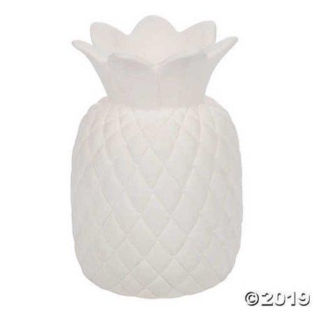 DIY Large Ceramic Pineapple