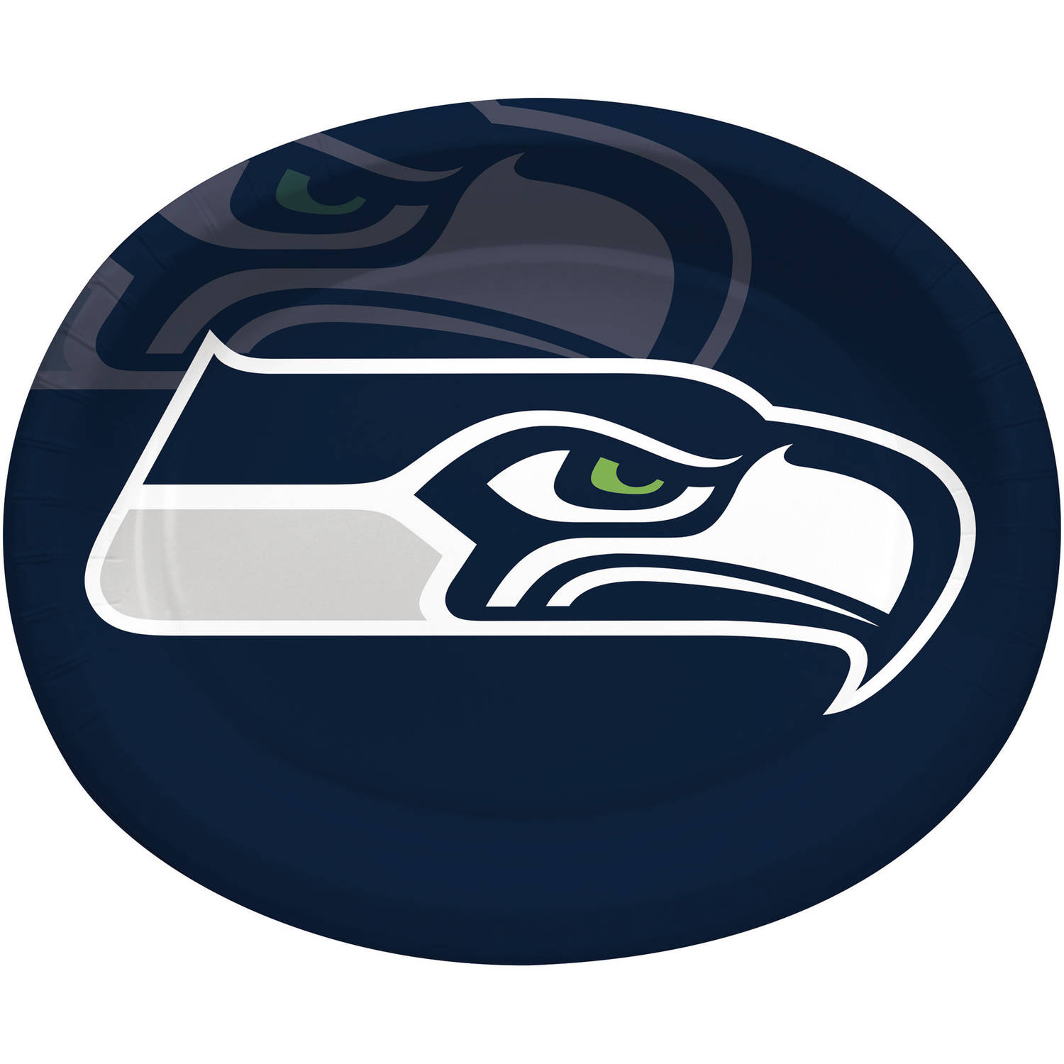 Seattle Seahawks Oval Platters, 8-Pack