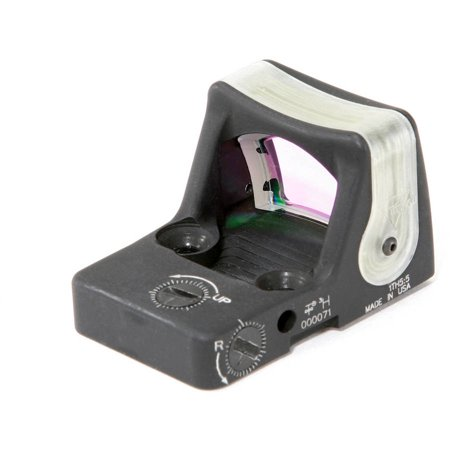 Trijicon Ruggedized Miniature Reflex Sight  Matte  Dual Illumination  7 Moa  Amber Dot