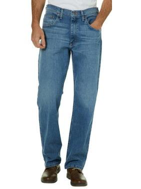 Wrangler Mens Comfort Flex Denim Regular Fit Jeans