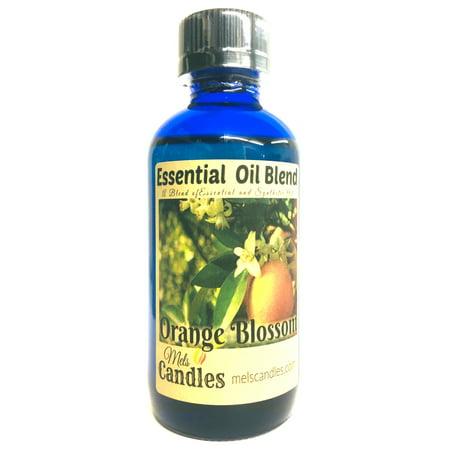 Orange Blossoms 4 Ounce / 118.29 ml Glass Bottle of Fragrance Oil Essential Oil Blend