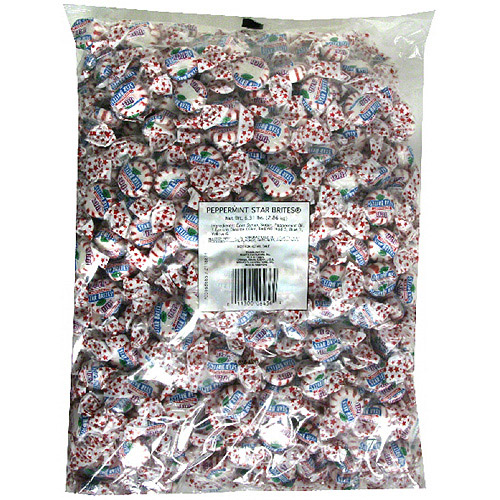 Brach's Peppermint Star Brites Mints Candy, 101 oz
