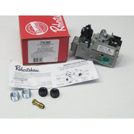 ROBERTSHAW 710-402 Gas Valve, Natural - Asco Gas Valve