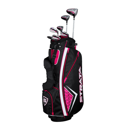 Callaway Women's Strata '19 Complete 11-Piece Graphite Golf Club Set with Bag, Right Handed