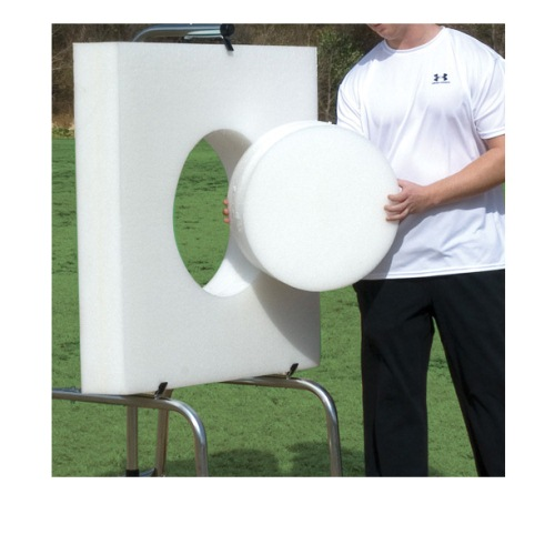 Square Archery Target with Replaceable Core, Ethafoam - 36''