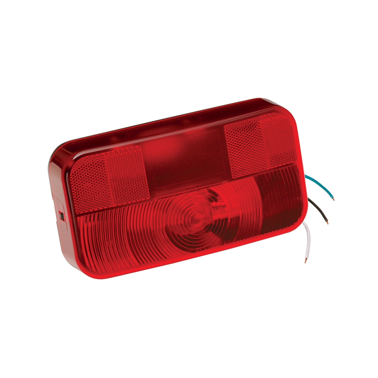 Bargman 54200-013 4 Round LED Tail Lamp with Mounting Flange