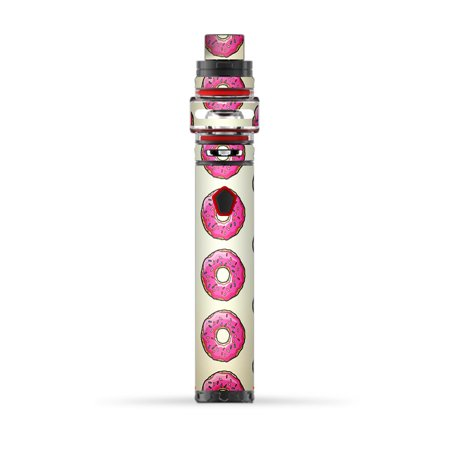 Skin Decal for Smok Stick Baby Prince Vape / Pink Sprinkles Donuts ()