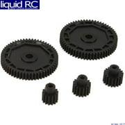 ECX 212002 Pinion & Spur Gear Set: 1:18 4WD All