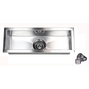16 Gauge Undermount Kitchen Sink 23 inch stainless steel 16 gauge undermount kitchen prep island bar 23 inch stainless steel 16 gauge undermount kitchen prep island bar sink workwithnaturefo