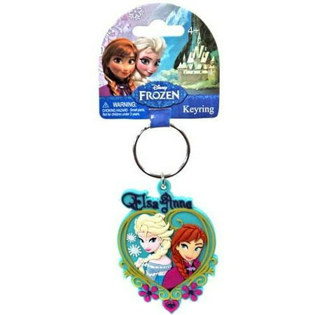 Disney's PVC Figural Key Ring: Queen Elsa & Anna (Anna And Elsa Adult Costumes)