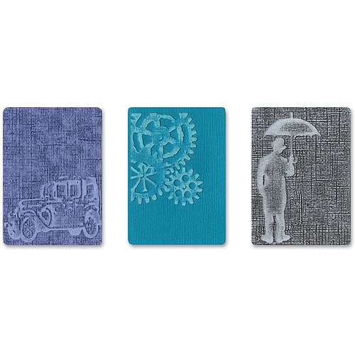 Tim Holtz Alterations Texture Fades Embossing Folders, Artful Muse