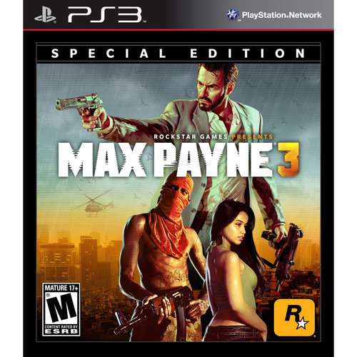 MAX PAYNE 3 SPECIAL EDITION-NLA PS3 SHOOTER