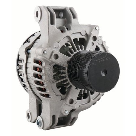DB Electrical VND0579 Remanufactured Alternator for 3.6L Jeep Grand Cherokee 2011 2012 2013 2014 2015 2016 2017 6Clock 180amp IF Fan Type SD6 Pulley Type ER Regulator CW Rotation
