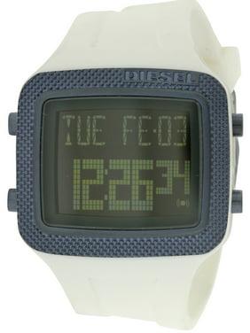 Diesel Men's Space Age White Digital Watch DZ7215