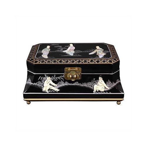 Oriental Furniture Adorlee Asian Jewelry Box