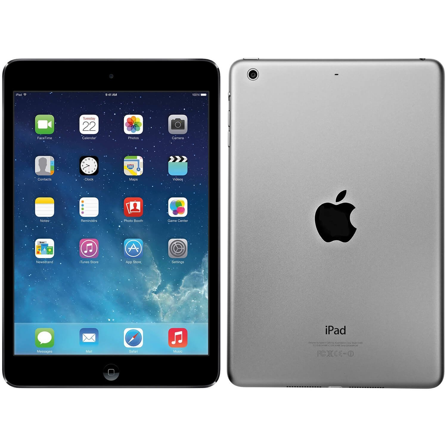"Refurbished Apple iPad Air WiFi 16GB iOS 7 9.7"" Tablet - MD785LL/A - Space Gray"