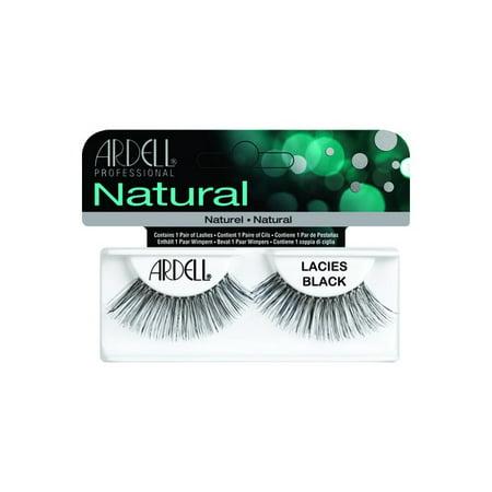 17ed4f9c5ce Ardell Lashes Lacies Black Natural - Walmart.com