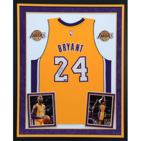 cd991380e8e Kobe Bryant Los Angeles Lakers SM Deluxe Framed Autographed Yellow Adidas  Swingman Jersey - Panini Authentic - Fanatics Authentic Certified -  Walmart.com