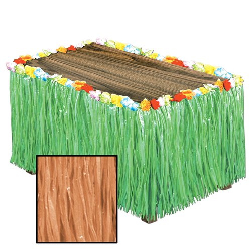 The Beistle Company Artificial Grass Table Skirting Accessory