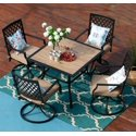 Set of 5 MF Studio Metal Patio Dining Sets