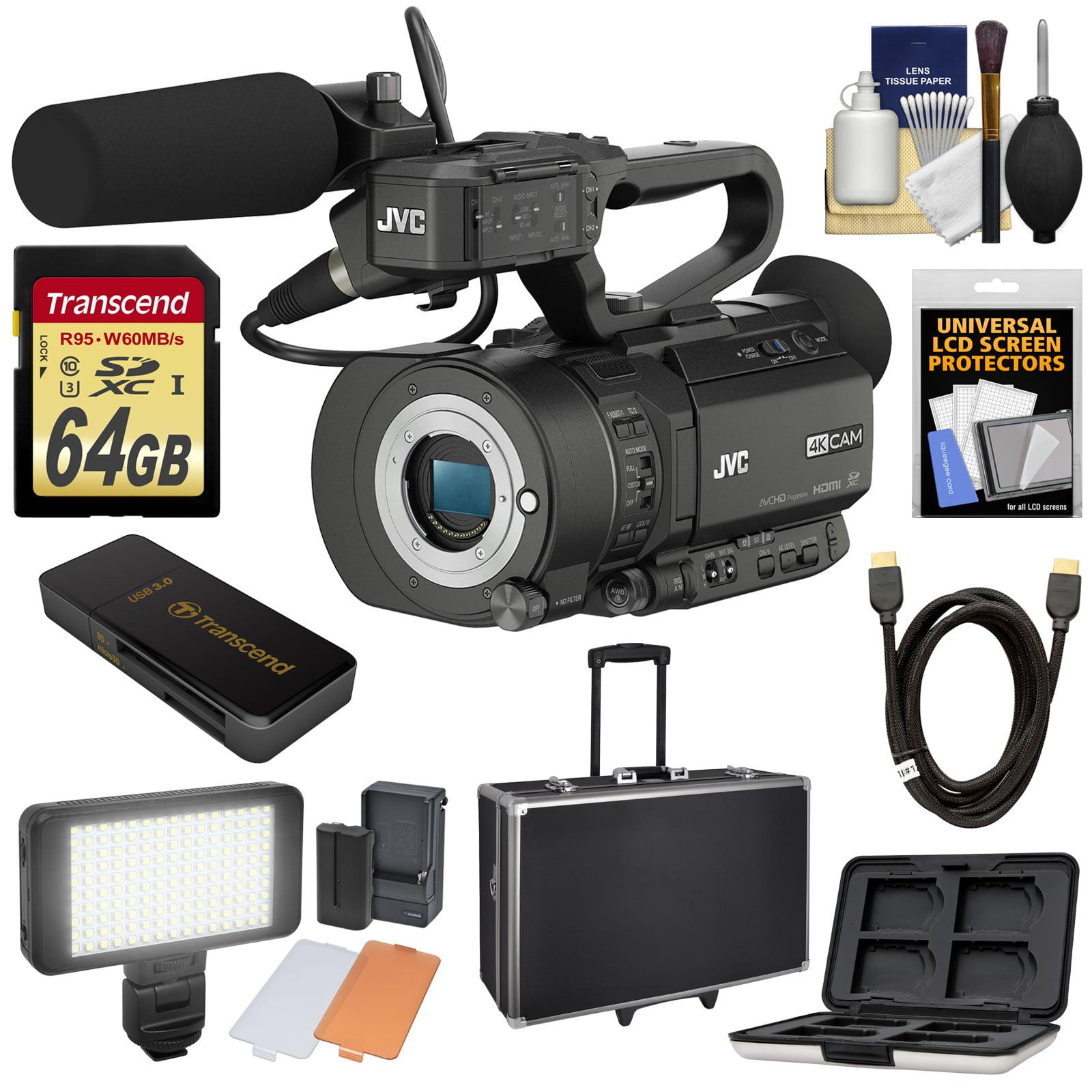 JVC GY-LS300CHU Ultra 4K HD 4KCAM Super 35 Pro Camcorder ...