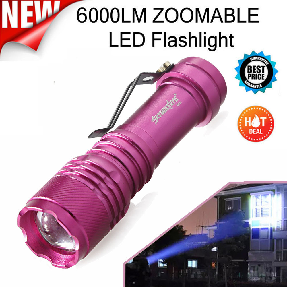 Q5 AA/14500 3 Modes ZOOMABLE LED Flashlight Torch